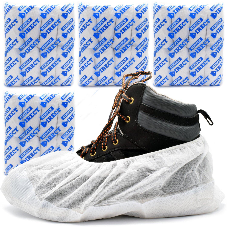 61a4f086d0551a Couvre-chaussures Robustes Blanc Quantité au choix Longue durée  Réutilisable De la marque Simply Direct: Amazon.fr: HygiÚne et Soins du  corps