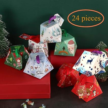navidad cajas de regalo caja de caramelos decoraciones cajas tratar las fuentes del partido para regalos