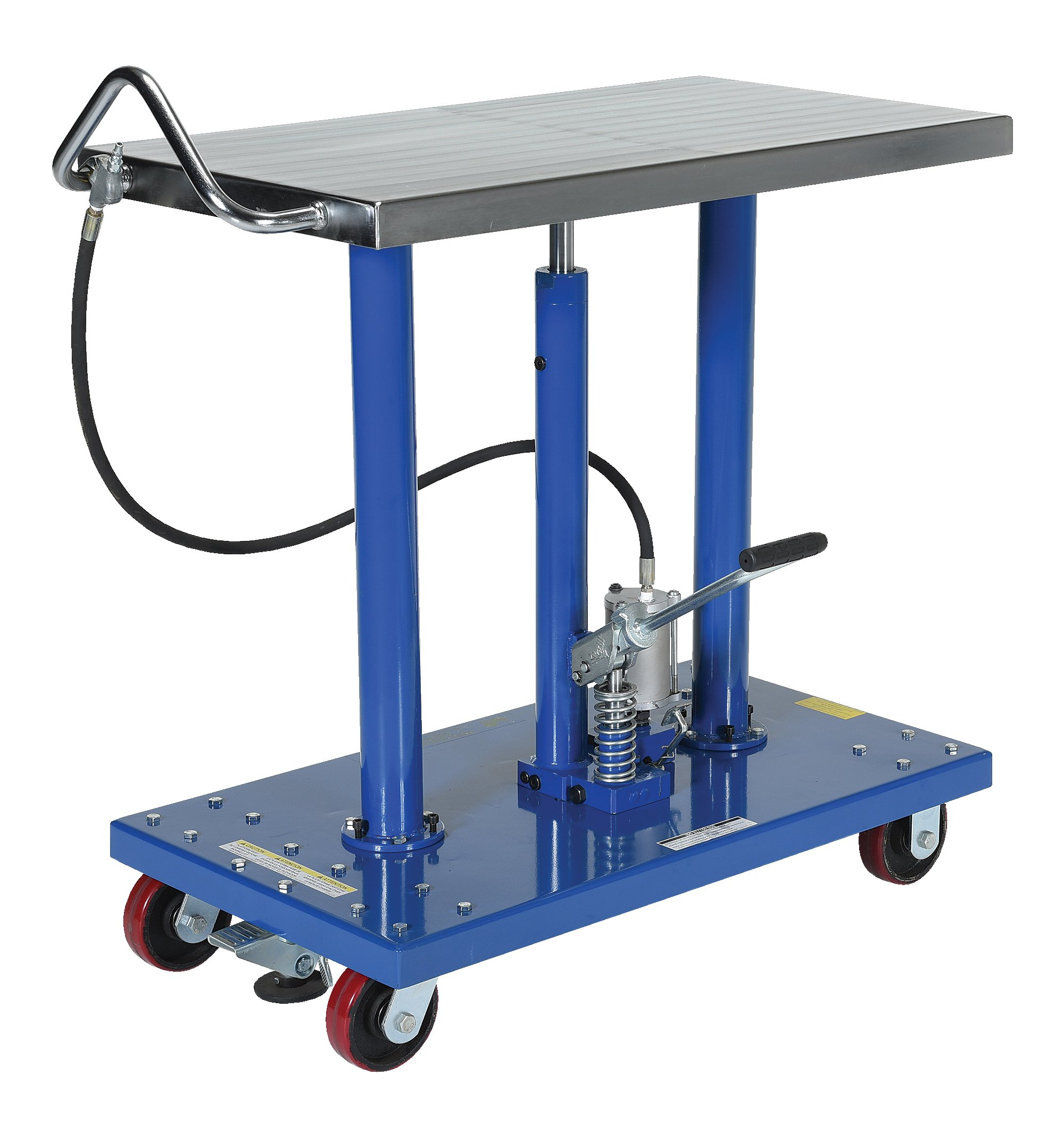 Vestil HT-10-2036A-AIR Hydraulic Air Post Table Powder Coat, 36'' Height