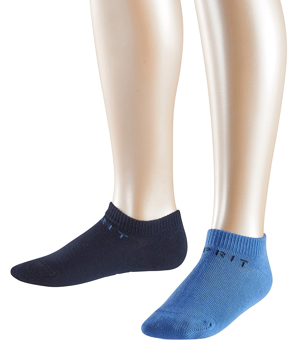 ESPRIT Boy's Foot Logo Ankle Socks pack of 2 19042
