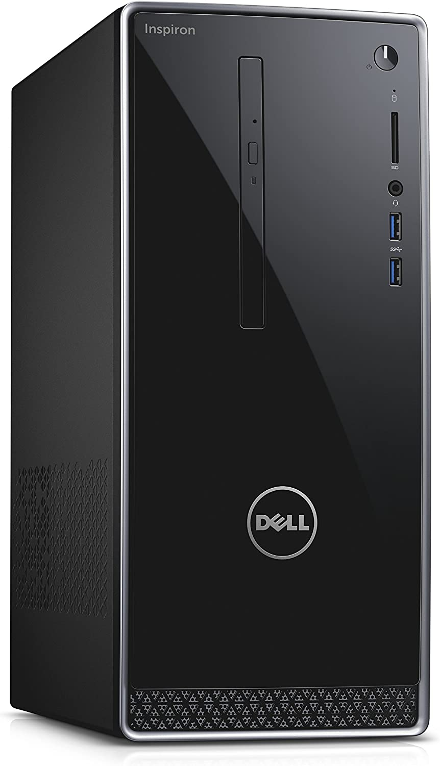 Dell Inspiron i3650-2820SLV Tower Desktop Intel Core i5-6400 2.7GHz Processor 8GB DDR3L 1TB HDD Windows 7 Professional Silver