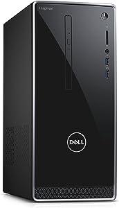 Dell Inspiron i3650-2820SLV Tower Desktop Intel Core i5-6400 2.7GHz Processor 8GB DDR3L 1TB HDD Windows 7 Professional Silver