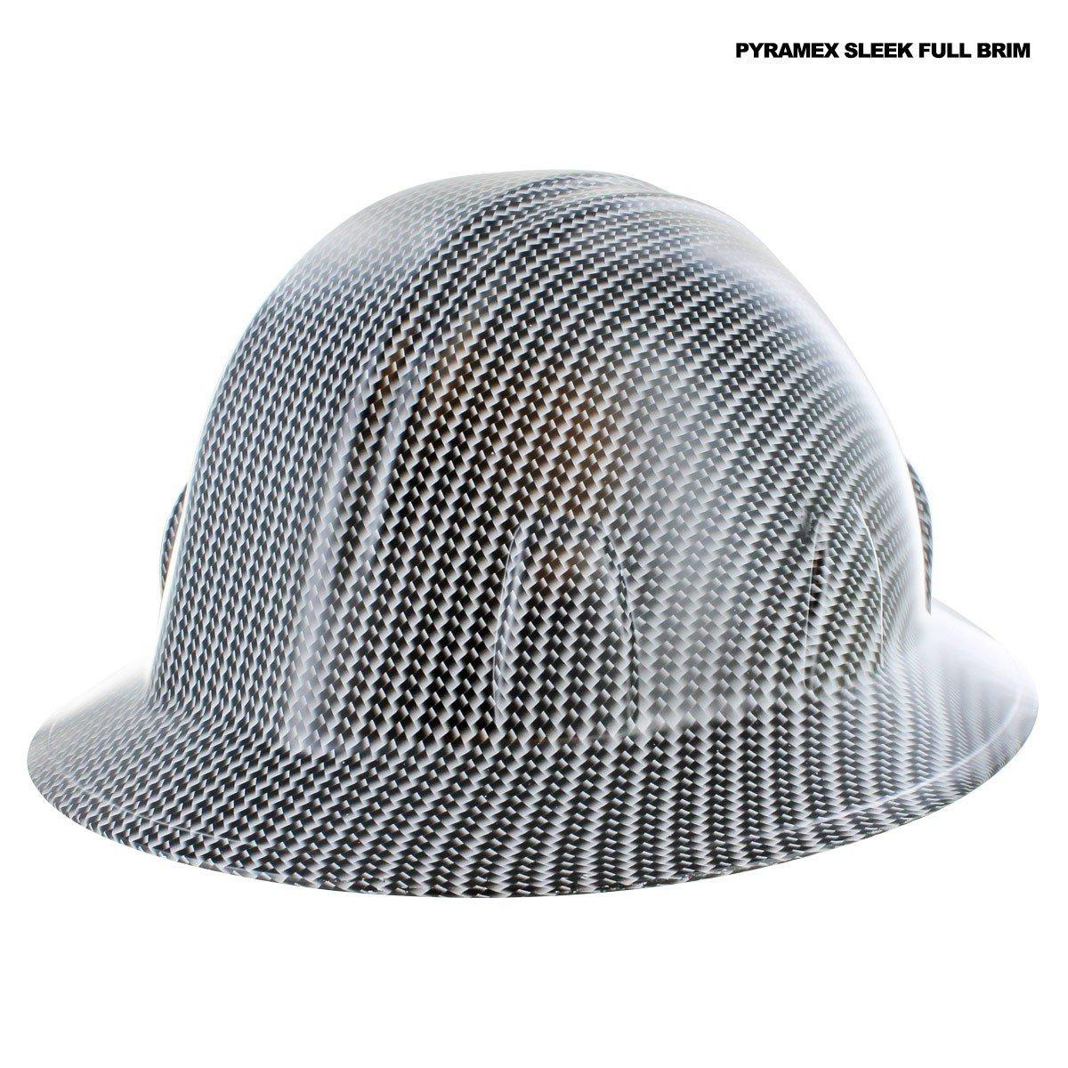 Full Brim Hard Hats Carbon Fiber