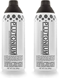 product image for Plutonium Paint Ultra Supreme Professional Aerosol Spray Paint, 12-Ounce, Deep Space (2 Pack)