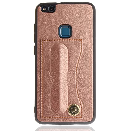 Amazon.com: AIIYG DS, Huawei P10 Lite Wallet Case,[Card ...