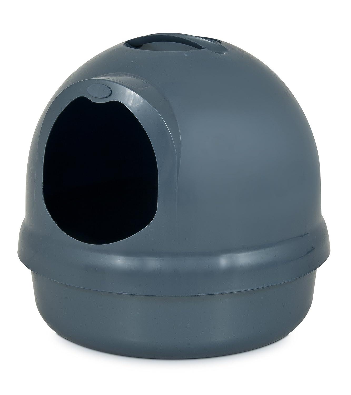 Amazoncom Petmate Booda Dome Litter Box Dark Blue Rounded Cat