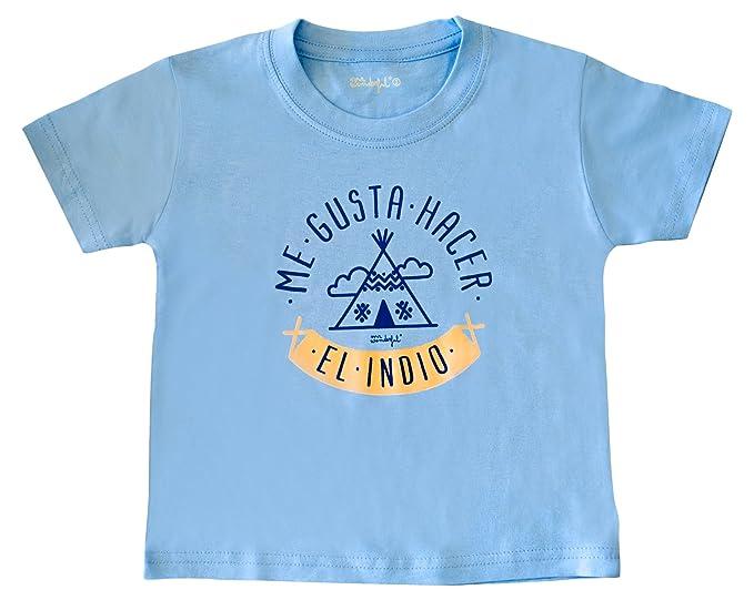 """Mr. Wonderful Camiseta infantil """"Me gusta hacer el indio"""", ..."""