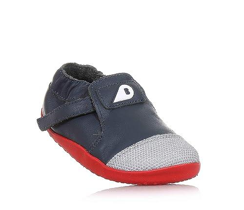 822f89f0e71b8 Bobux 4607 - Zapatilla Deportiva de Cuero niña  Amazon.es  Zapatos y  complementos