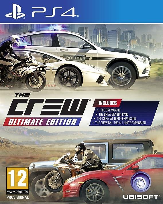 Ubisoft The Crew vídeo - Juego (PlayStation 4, Racing, Modo ...