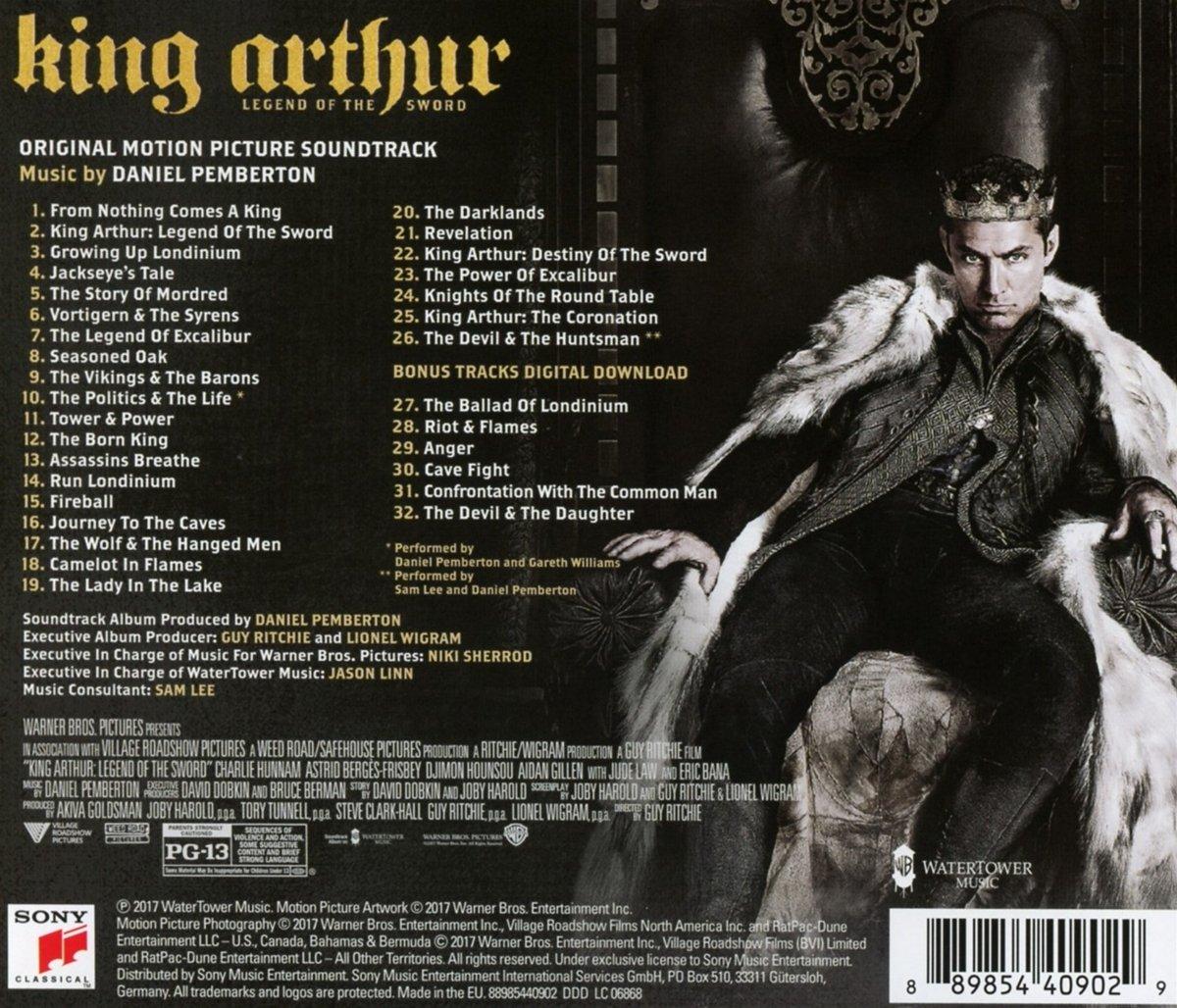 king arthur legend of the sword original motion picture