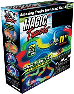 magic tracks race track random car color