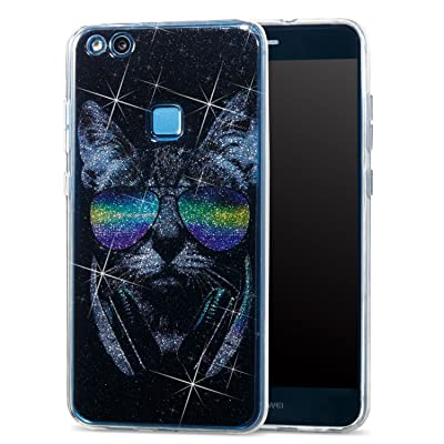 coque huawei p10 lite chat silicone