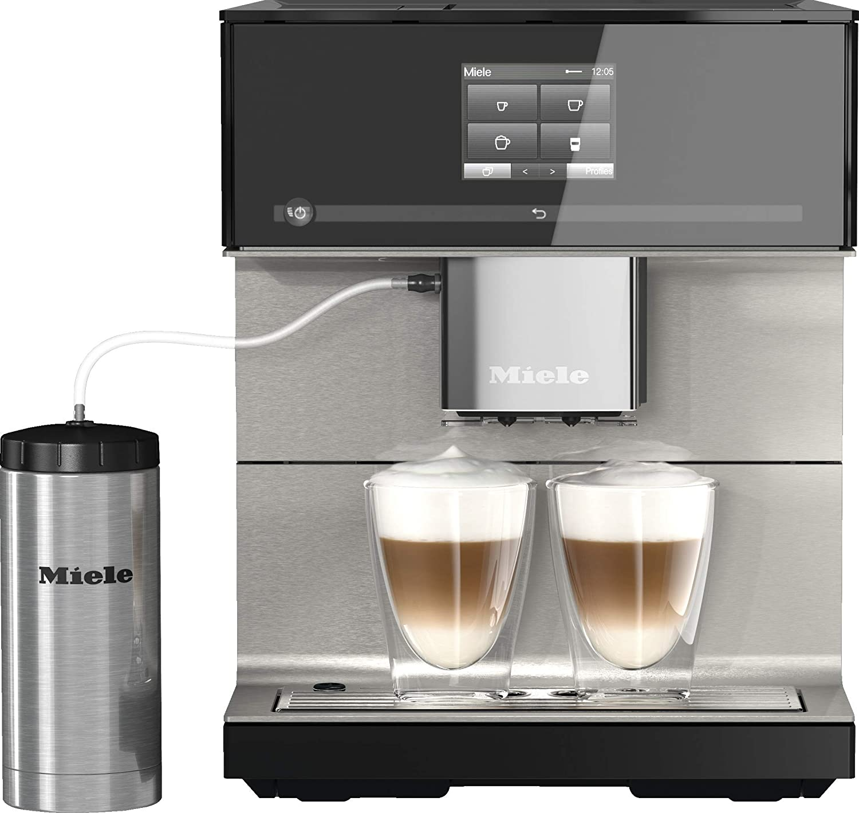 Miele 10947410 CM 7550 - Cafetera automática 397x311x445 mm Blanco: Amazon.es: Hogar