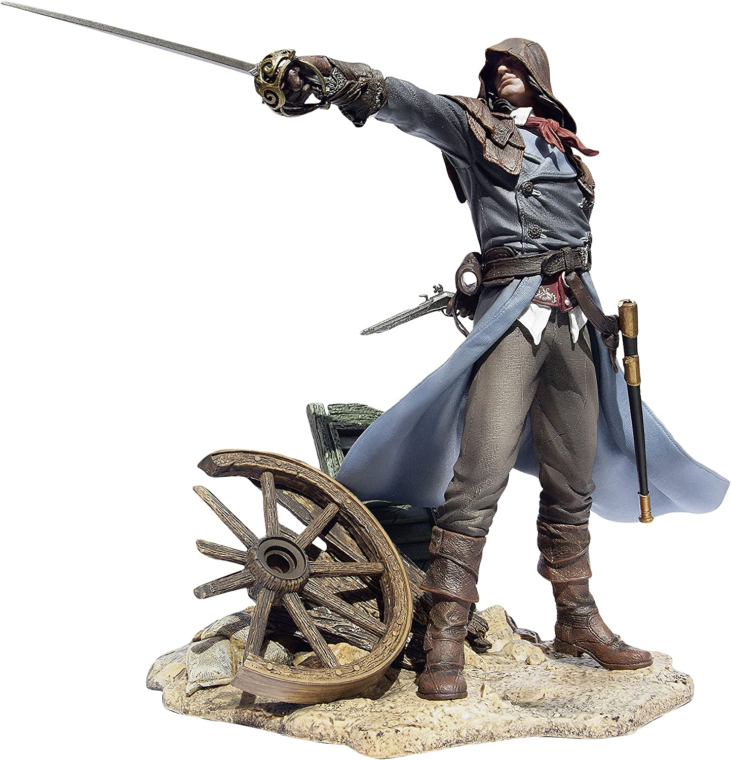 Amazon Com Assassin S Creed Unity Figurine Arno The Fearless Assassin Home Kitchen