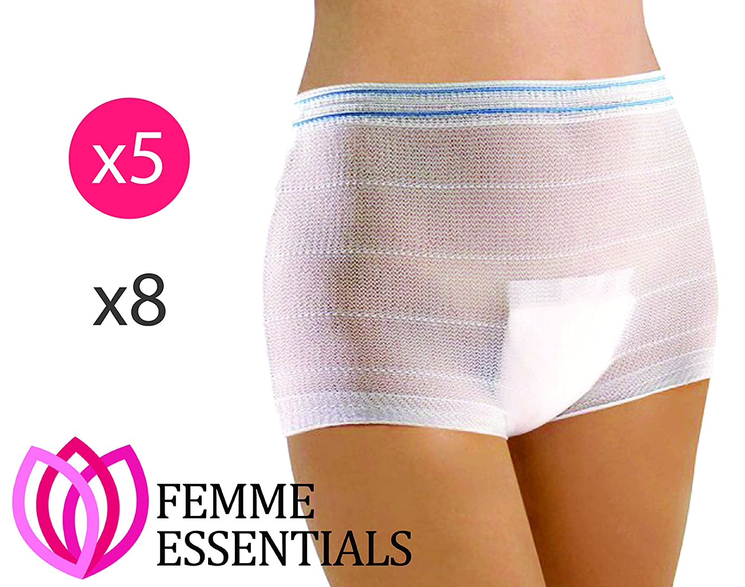 Femme Essentials Women's Maternity Knickers