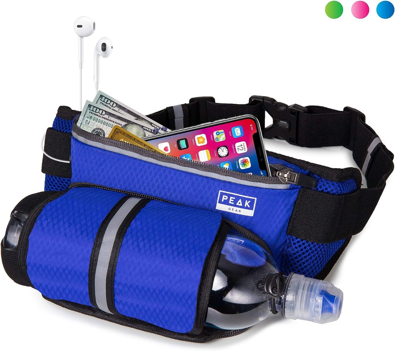 Peak Gear 12-Ounce Bottle Hydration Belt