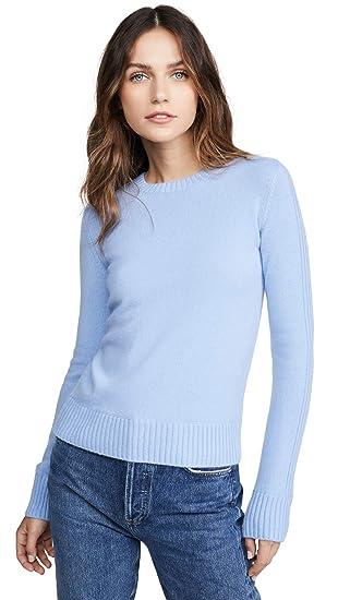 Vince Womens Runner Rib Cashmere Sweater