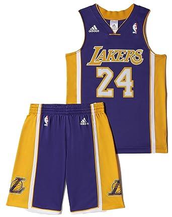adidas NBA LA Lakers (Kobe Bryant Nº24) - Conjunto Baloncesto ...