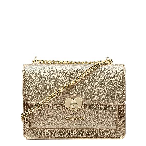 b6db1848c83 Valentino by Mario Valentino Amelie Shoulder bag gold: Amazon.co.uk:  Clothing