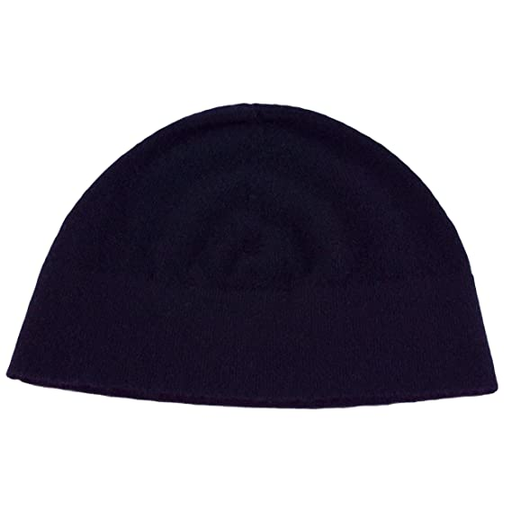 Image Unavailable. Image not available for. Colour  Love Cashmere Mens 100%  Cashmere Watch Cap Beanie - Navy Blue - Made in Scotland af06e0a1de02