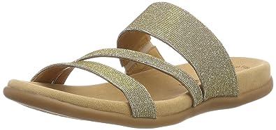 5e0b7f1ef10d Gabor Shoes Damen Jollys Pantoletten, Mehrfarbig (Platino), 36 EU