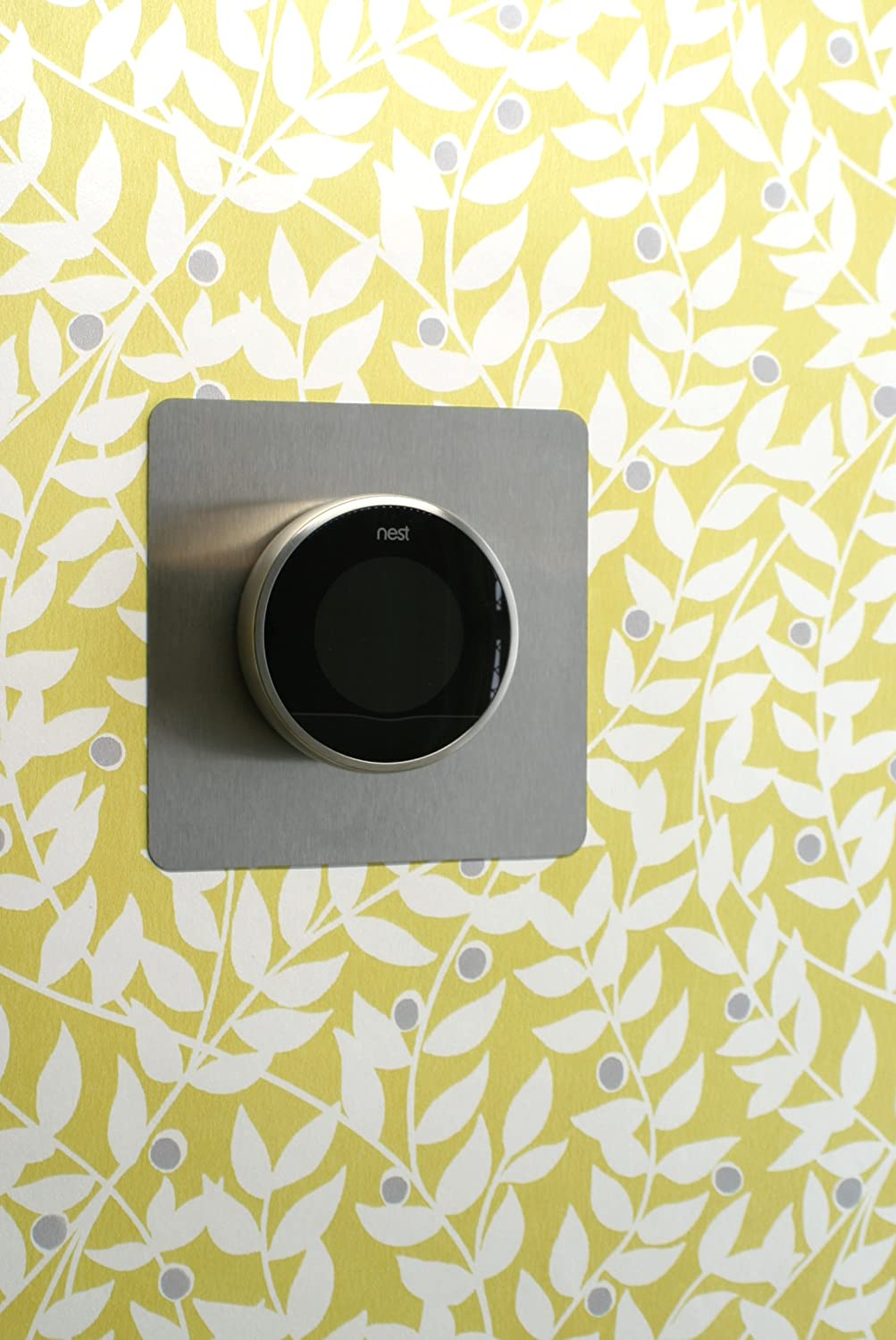 Nest Thermostat Backing Plate by Formonic. Square stainless steel ...