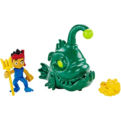 Fisher-Price Disney Jake & the Never Land Pirates, Creature Adventure Captain Jake: Toys & Games