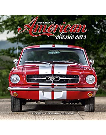 American Motor Show Calendario.Amazon Com Automotive Calendars Books