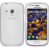 mumbi TPU Schutzhülle für Samsung Galaxy S3 mini - transparent weiß