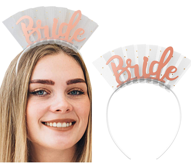 New Team Bride Bridesmaid Headband Bride To Be Tiara Crown Hen Party Best Gift