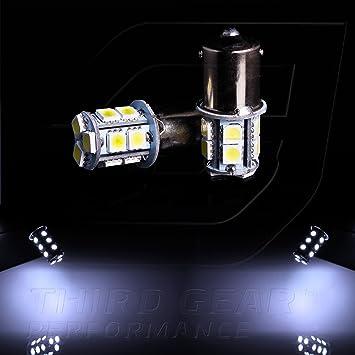 Amazon.com: TGP 1156 Blanco de 13 LED SMD 5050 Bombillas ...