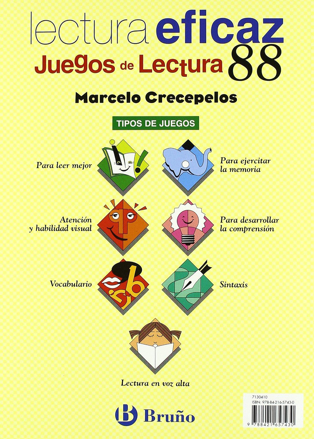 Marcelo Crecepelos Juego Lectura Castellano - Material Complementario - Juegos De Lectura - 9788421657430: Amazon.es: Ángel Alonso Gracia, Carlos Miguel ...