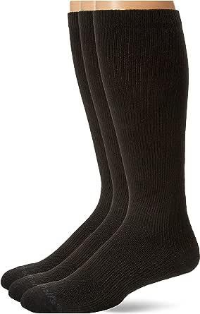 Dr. Scholl's Men's Athletic Color Block Compression Crew Socks