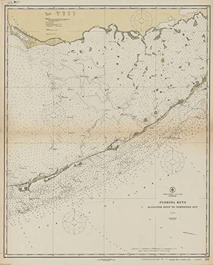 Amazon.com: Historic Map | Gulf Coast, Florida 1921 | United States ...