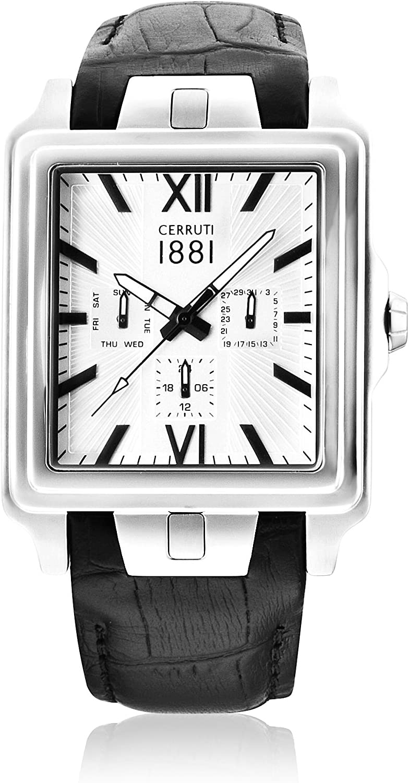 Cerruti 1881 Reloj de Cuarzo Man CRA013A272G 36.0 mm