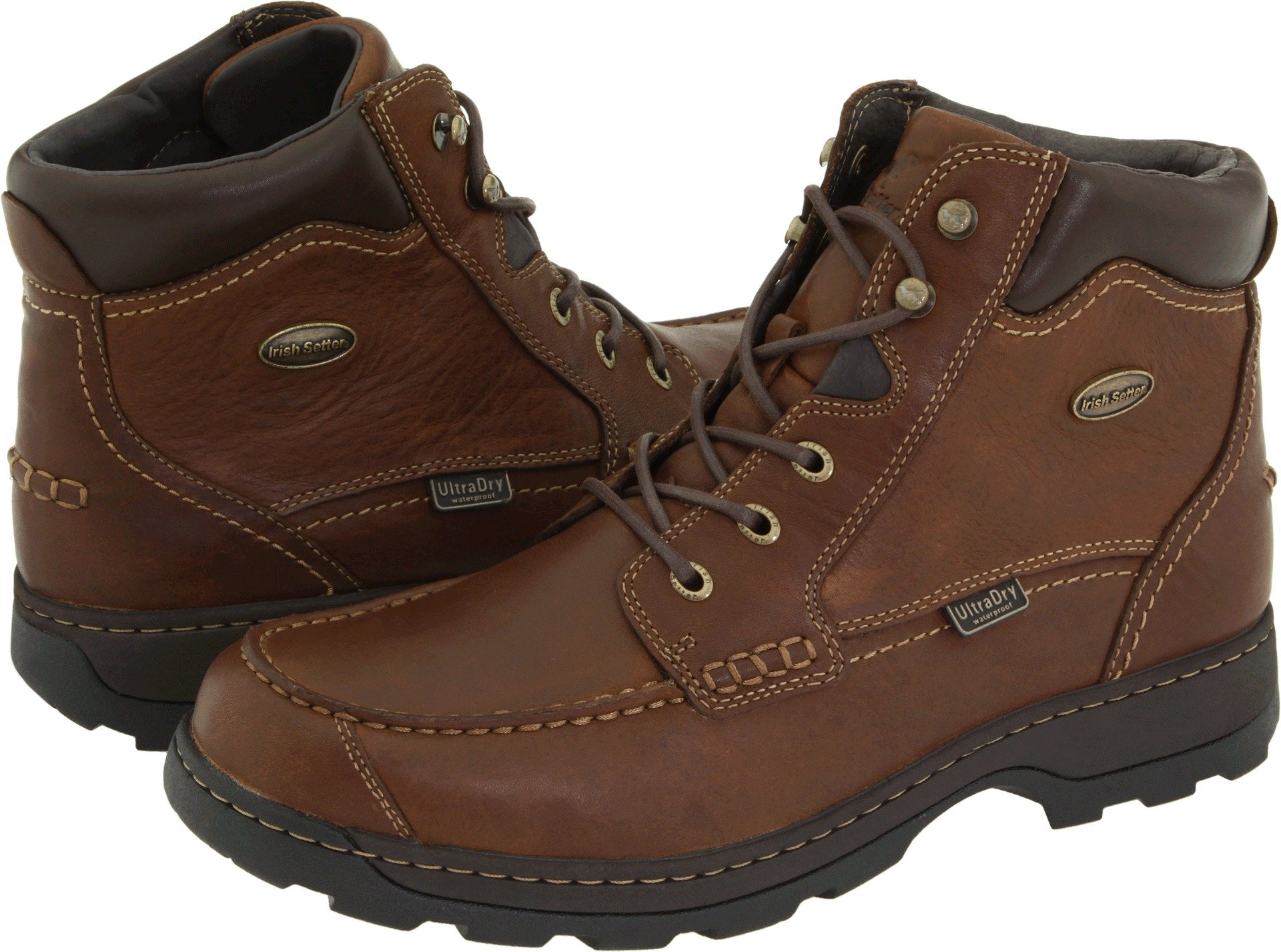 Irish Setter Men's Soft Paw 3875 Brown Full Grain Leather 10 D US D (M)