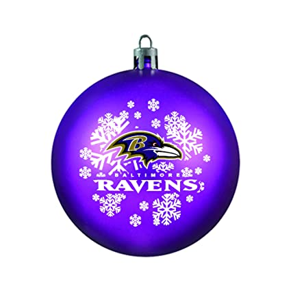 NFL Baltimore Ravens Shatterproof Ball Ornament - Amazon.com: NFL Baltimore Ravens Shatterproof Ball Ornament: Sports