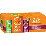 IZZE Sparkling Juice, 3 Flavor Variety Pack 8.4-Ounce Cans Pack of 24 (Pack of 2)