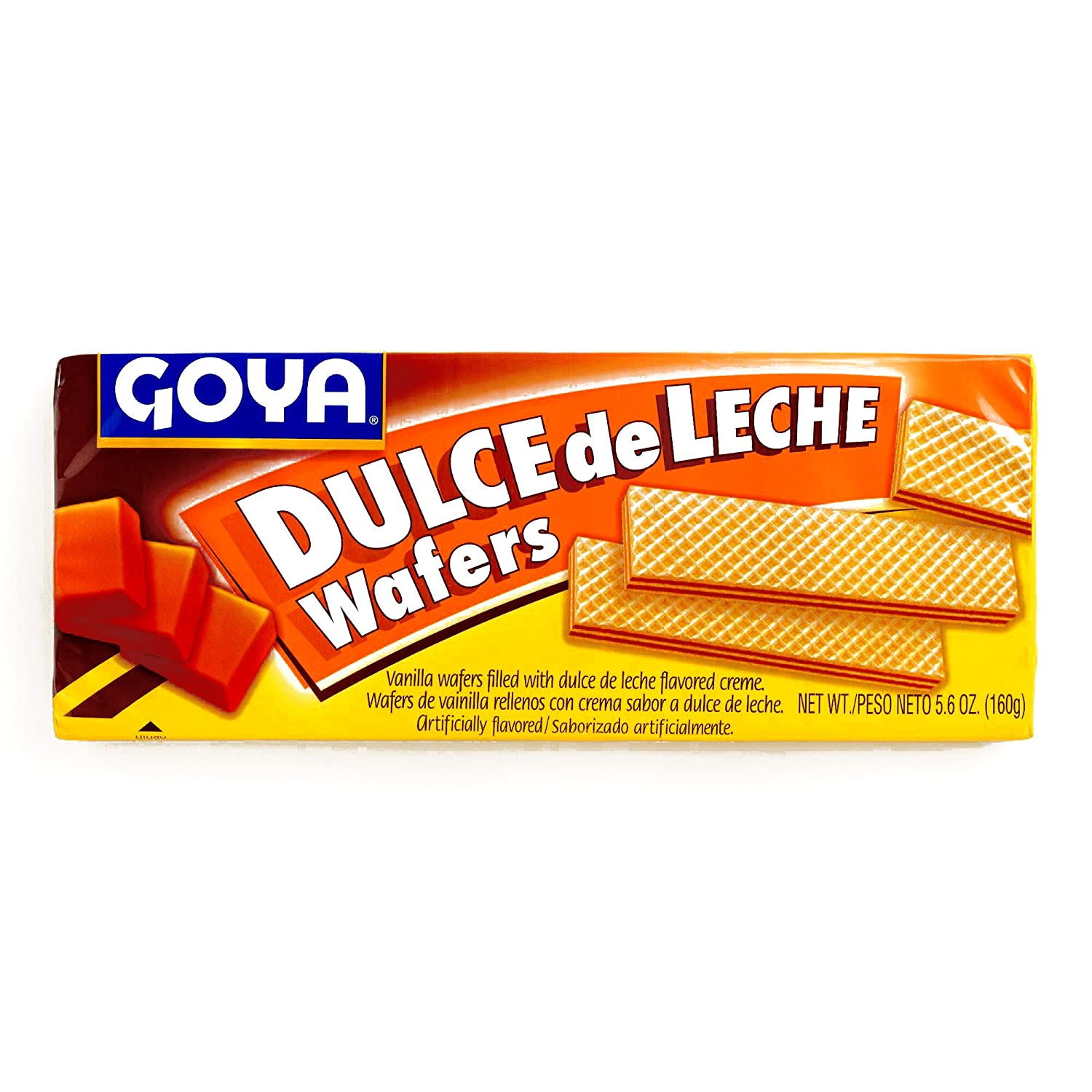 Amazon.com: Goya Dulce De Leche Wafer Cookies 5.6 oz each (4 Items Per Order)