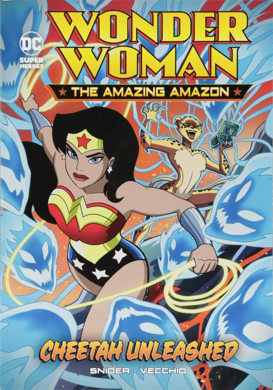 Cheetah Unleashed (Wonder Woman the Amazing Amazon) ebook