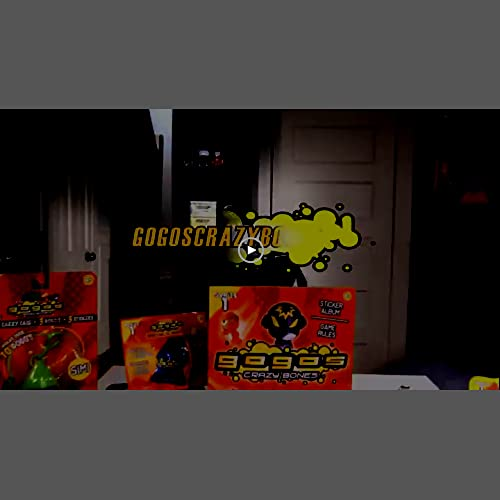 Series 1 GoGo/'s Crazy Bones 4 Packs of 3 Pieces