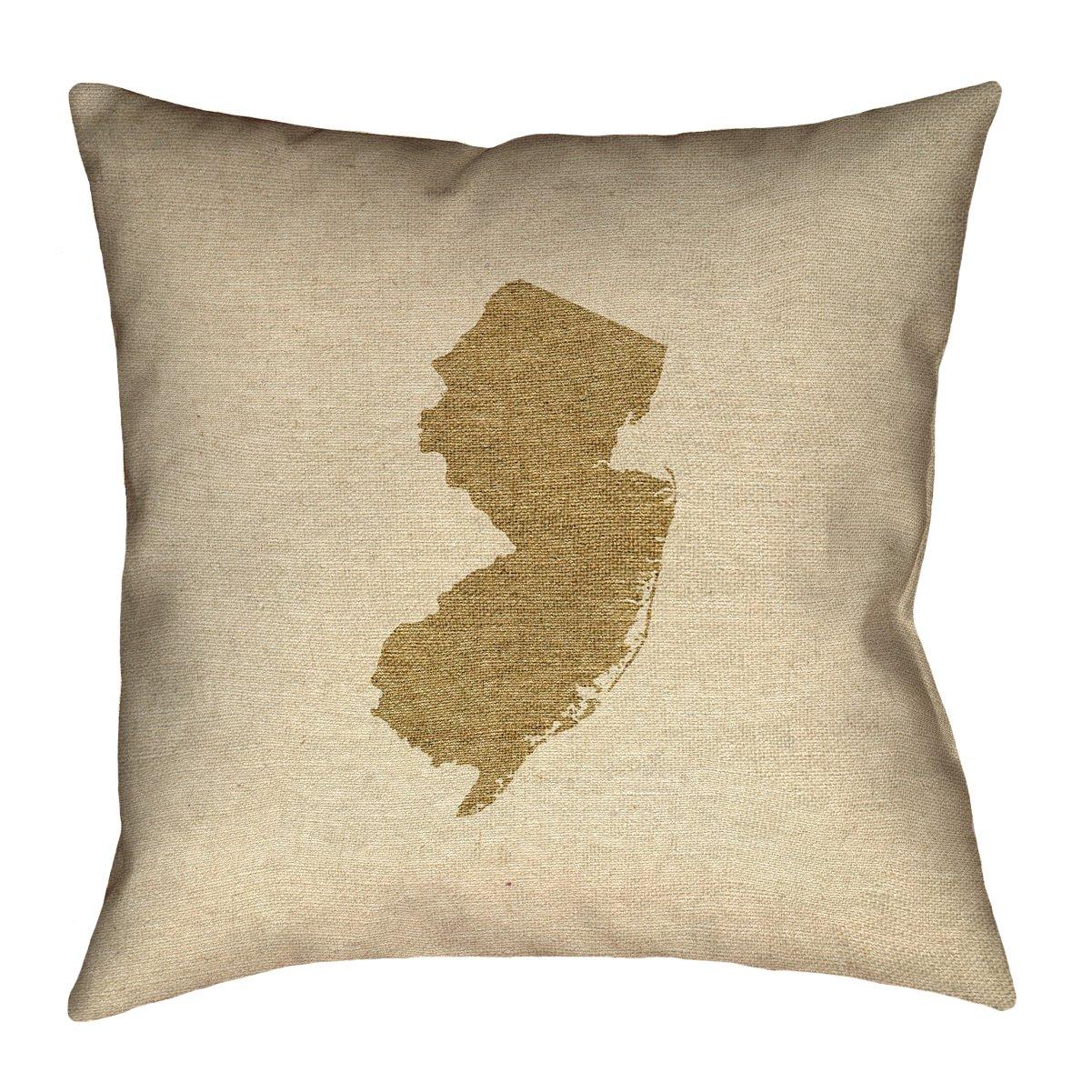 ArtVerse Katelyn Smith 20 x 20 Indoor//Outdoor UV Properties-Waterproof and Mildew Proof New Jersey Canvas Pillow