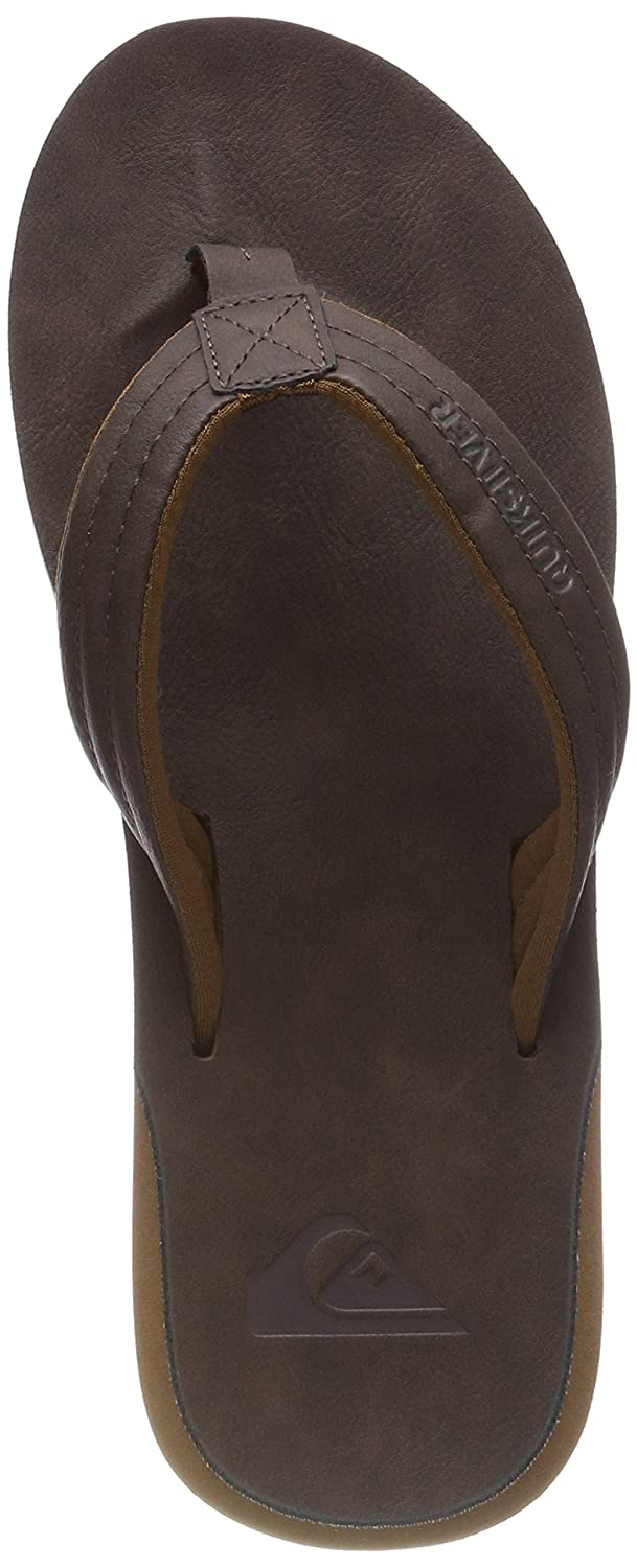 TALLA 41 EU. Quiksilver Carver Nubuck-Sandals For Men, Zapatos de Playa y Piscina para Hombre