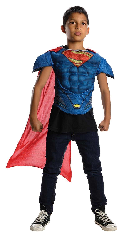 sc 1 st  Amazon.com & Amazon.com: Superman Childu0027s Muscle Chest Costume Top: Toys u0026 Games