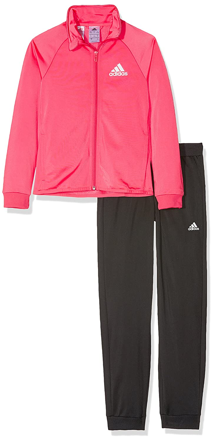 adidas Girls' Separates Polyester Track Suit Closed Hem ADIEY|#adidas CF7303