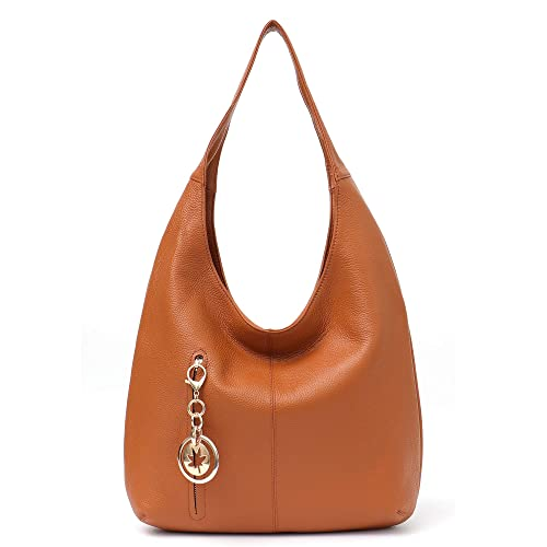 00bd46abe1b4 Amazon.com  Women Hobo Bags STEPHIECATH Fashion Luxury Cow Leather Soft  Tote Shoulder Bag (TAN)  Musical Instruments