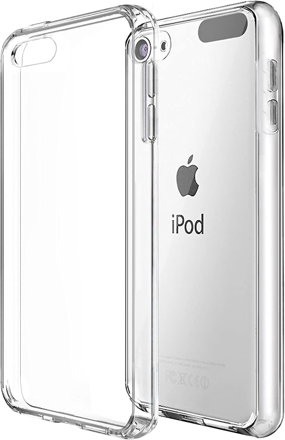 Ailun Phone Case for iPod Touch 7 Touch 6 Touch 5 Soft Bumper TPU Clear Case Slim Lightweight Compatible with iPod Touch 7G 2019 Released 6G 2015 Released 5G Crystal Clear