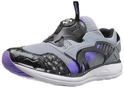 12a7a04dbf PUMA Men's Future Disc Lite Opulence V2 Classic  Sneaker,Tradewinds/Fluorescent Purple/Black