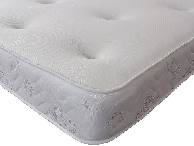 Colchón doble Starlight Beds con espuma viscoelástica Galaxy, colchón de 135 cm x 190 cm con muelles: Amazon.es: Hogar