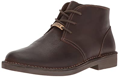 Dockers Men's Tussock Chukka Boot, Red/Brown, ...